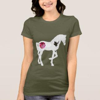 Uhrwerk-Pferd T-Shirt