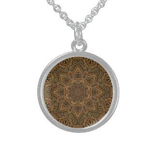 Uhrwerk-Vintage Sterlingsilber-Halskette Sterling Silberkette
