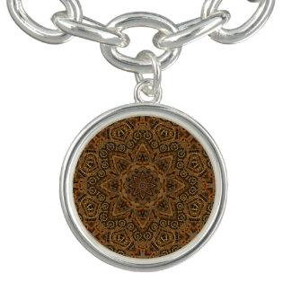Uhrwerk-Vintages Muster-Charme-Armband Armband