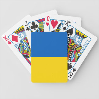 Ukraine-Flagge Bicycle Spielkarten
