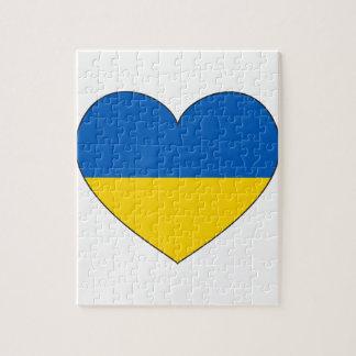 Ukraine-Flagge einfach
