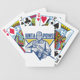 Ukrainischer Armee-Junta-Power Bicycle Spielkarten