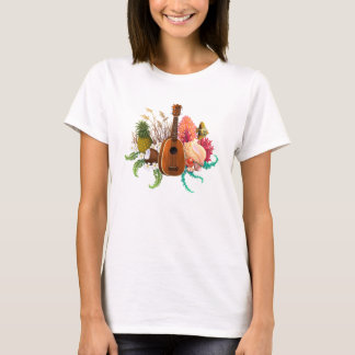 Ukulele-Land-u. Seeananas T-Shirt