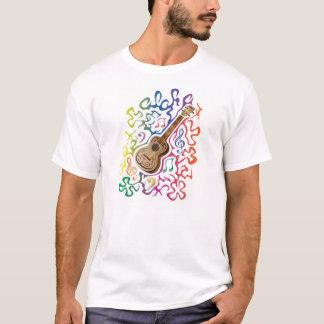 Ukulele-Regenbogen T-Shirt