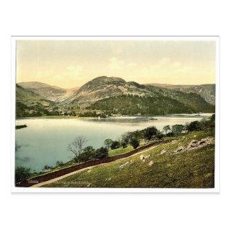 Ullswater, vom Platz fiel, See-Bezirk, England Postkarte