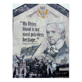 Ulster-Blutpostkarte Postkarte