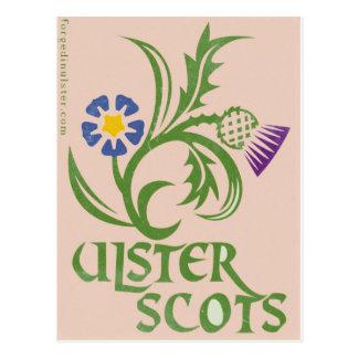 Ulster-Schotten Flachs u. Distelentwurf Postkarte