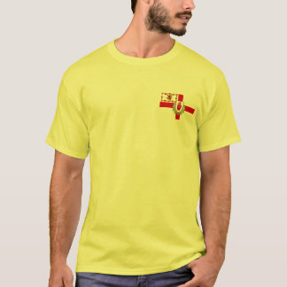 Ulster-Schotten/Schotte-Irische Flagge T-Shirt