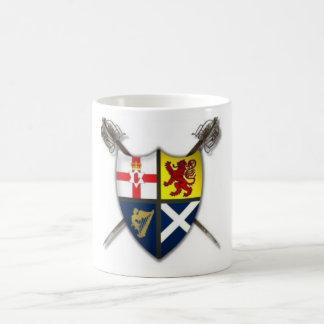 Ulster-Schotten/Schotte-Irisches Wappen Tasse