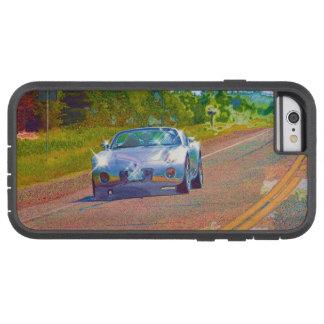 Ultra cooles super schnelles silbernes Sport-Auto Tough Xtreme iPhone 6 Hülle