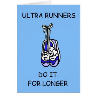Ultra tun Läufer es für länger Karte