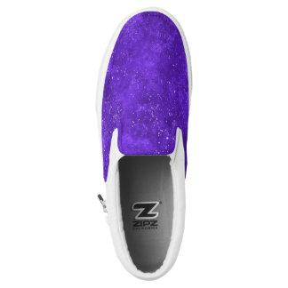 Ultraviolette Galaxieschuhe Slip-On Sneaker