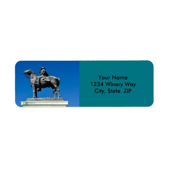 Ulysses S Grant Kleiner Adressaufkleber