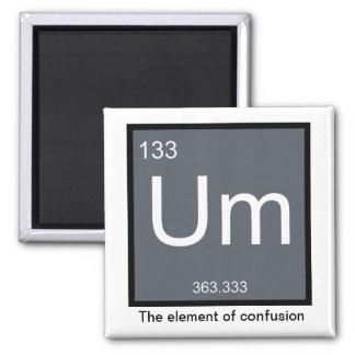 Um, das Element der Verwirrung - Magnet