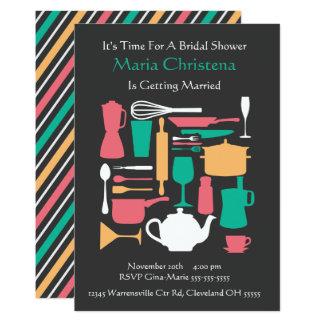 Um die Küchen-Brautparty-Einladung 12,7 X 17,8 Cm Einladungskarte