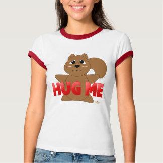 Umarmbares rotes Brown-Eichhörnchen umarmen mich T-Shirt