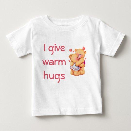 Umarmen der Bären/Baby-des feinen Jersey-T - Shirt