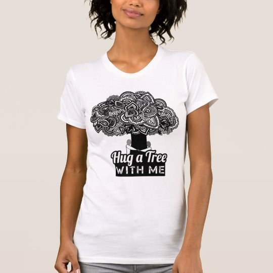 Umarmen Sie ein Baum-T-Shirts T-Shirt
