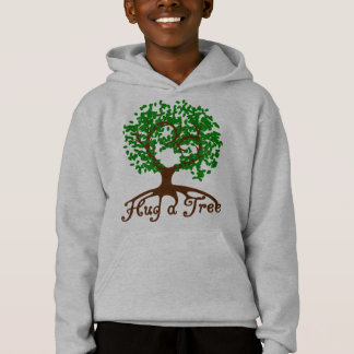 Umarmen Sie einen Baum-JugendHoodie Hoodie