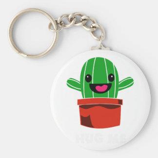Umarmen Sie mich - Kaktus Schlüsselanhänger