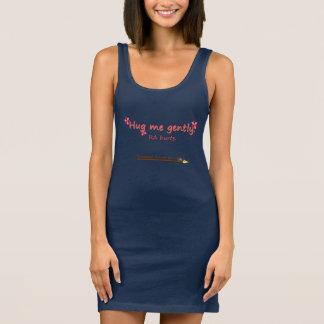Umarmen Sie mich leicht Trägershirtkleid Ärmelloses Kleid