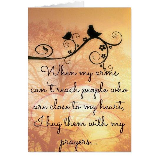 Umarmen Sie mit meiner Gebets-Karte Karte