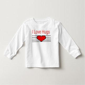 Umarmungen der Liebe I Kleinkind T-shirt