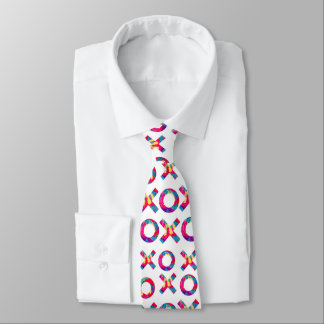 Umarmungen u. Küsse! Bedruckte Krawatte