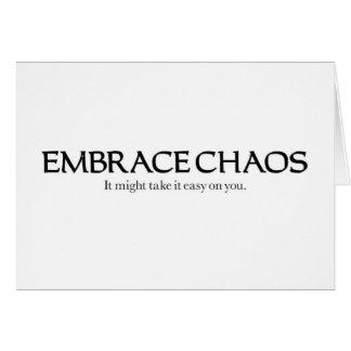 Umarmungs-Chaos Karte