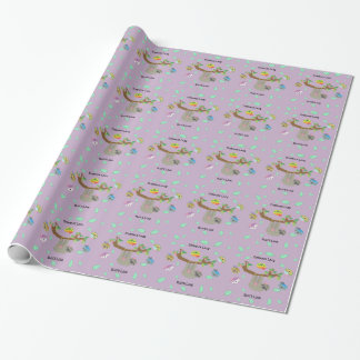 Umarmungs-faule Trägheiten - Packpapier