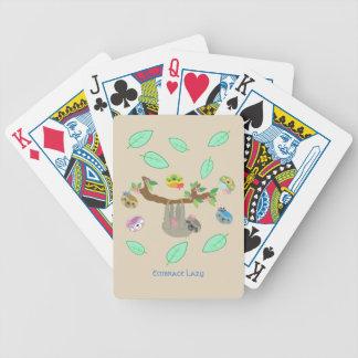 Umarmungs-faule Trägheiten - Spielkarten
