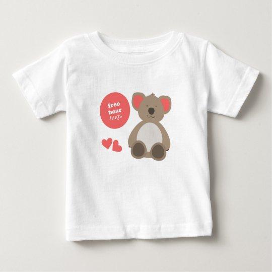 Umarmungs-Kleinkindt-shirt Baby T-shirt