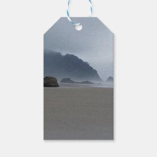 Umarmungs-Punkt-Oregon-Küste an einem nebelhaften Geschenkanhänger
