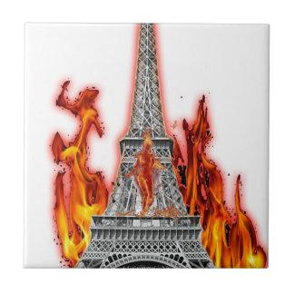 Umdrehung Eiffel fire Keramikfliesen