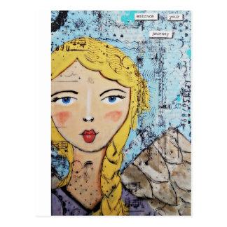 Umfassen Sie Ihre Reise durch Croppin Gelage Postkarte