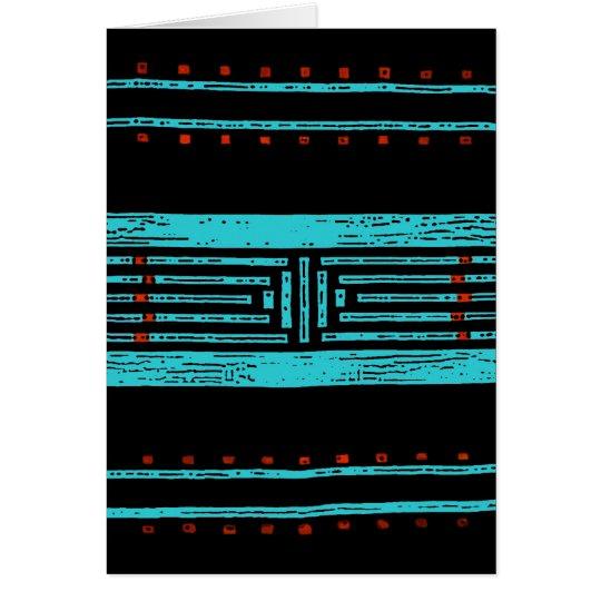 Umfassende Grußkarte des Navajos