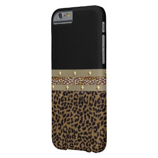 Umgeschnallter Leopard IPhone 6 Kasten Barely There iPhone 6 Hülle