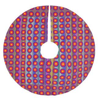 """Umsäumen Sie 44"""" Durchmesser fröhliche Polyester Weihnachtsbaumdecke"""