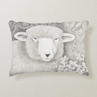 Umschaltbares weiches Schaf- u. Kuhkissen in den Dekokissen