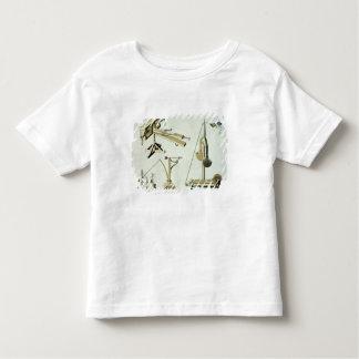 Umschlingen Sie Waffen, Platte von 'einer Kleinkinder T-shirt