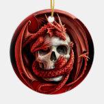 Un cr�ne pour Halloween - Décoration Pour Sapin De Noël