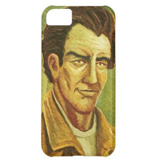 Un iPhone de portrait d'homme 5 cas Étuis iPhone 5C