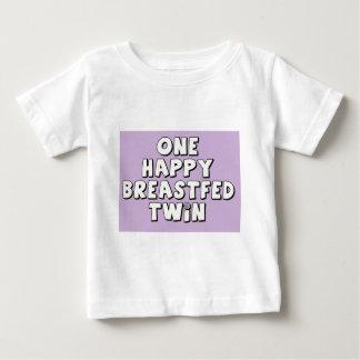 Un jumeau allaité heureux tee-shirt