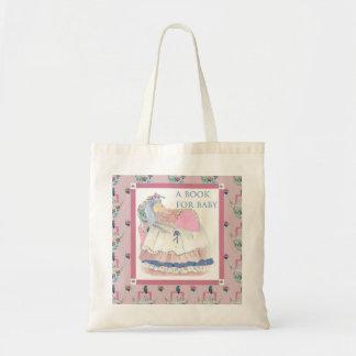 Un livre pour le bébé sac en toile budget