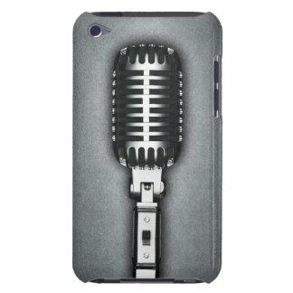 Un microphone classique étui iPod touch