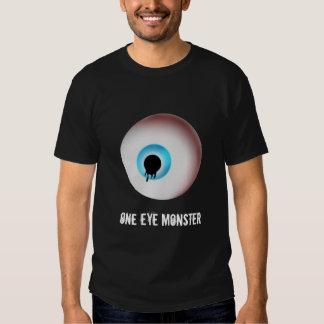 Un monstre d'oeil tshirts