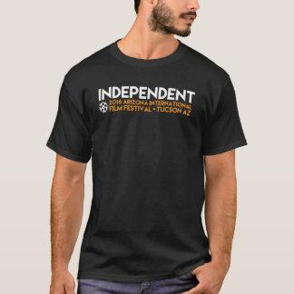 """""""Unabhängige"""" schwarze T T-Shirt"""