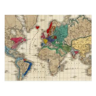 Unabhängigkeit der Staatanzeige 1783 Postkarten