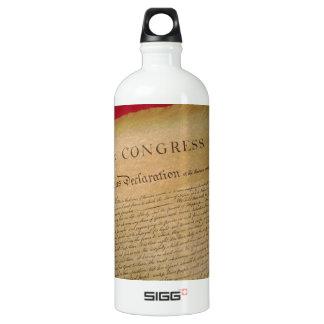Unabhängigkeit Wasserflaschen