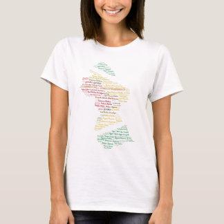Unabhängigkeits-Andenken Guyanas 50. T-Shirt